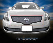 Main Upper Wire Mesh Grille For 2007 2008 2009 Nissan Altima Sedan