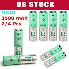 1/2/4pcs IMR 18650 3500mAh High Drain Flat Top Rechargeable Battery Stocks US