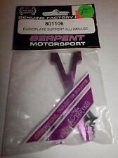 Serpent Motorsport Radioplate Support ALU Impulse #801106 NIP