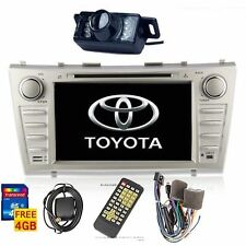 """8"""" Toyota Camry 2007-2011 2DIN Car GPS NAV DVD Player Bluetooth Touch Stereo Cam"""