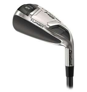Cleveland Launcher Turbo Irons - Steel / Graphite / Mens and Ladies