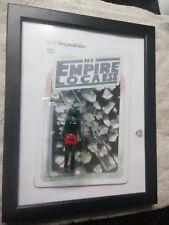 STAR WARS Mi Empire es Loco GREEDHOE GREEDO TRAP TOY ART BY 2bit Hack FRAMED DKE