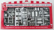 1:25 Scale Chevy Corvair & Vintage Chrysler Engine Pack - AMT #PP010