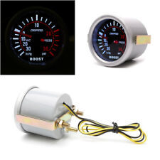 52mm 2″ boost PSI gauge White Digital LED Turbo Boost Pressure Gauge w backlight
