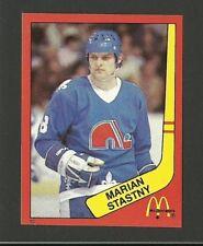 Marian Stastny Quebec Nordiques #10 1982-83 McDonald's Hockey Sticker NM/M
