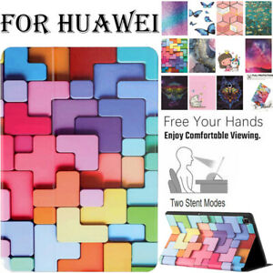 For Huawei MatePad T8 T10 10.4 Enjoy Tablet 2 Case Cover Leather TPU Shockproof