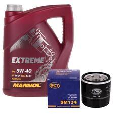 5 Liter Mannol Extreme 5W40 Motoröl + Motor Ölfilter Anschraubfilter Mazda