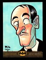DC Comics Batman: The Legend 2013 Cryptozoic Sketch Card by Mike Legan