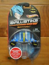 NEW  BALISTIKS  BATMAN  BLUE Hot Wheels Ballistiks Vehicles  CAR  MIP 2012 HTF
