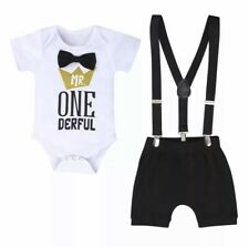 Brand new Boys 1st birthday party cake smash outfit size 1