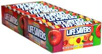 Lifesaver Five Flavor Candy- 20 ct. Lifesavers Large Rolls 14 Candies Each Roll