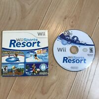 Disc Only Wii Sports Resort (Wii, 2009) Video Game Motion Plus Required TESTED