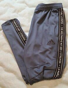Adidas Tiro 19 Mens Soccer Training Pants - Tech Ink / Black - Small