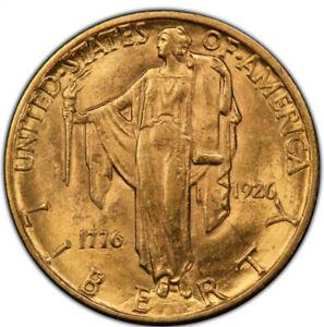 1926 $2 1/2 Sesquicentennial Quarter Eagle  PCGS MS62