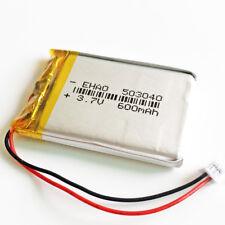 JST 1.25mm 3.7V 600mAh 503040 Lipo Polymer Battery For MID DVD GPS Bluetooth Pen