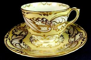 VINTAGE PINK & YELLOW DUO c. 1840-50
