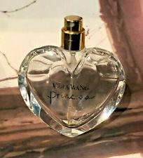 vera wang heart shaped princess fragrance display bottle 30ml no cap perfume