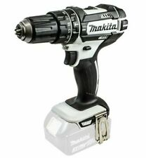 Makita DHP482ZW 18V Combi Drill, White Free Next Working Day Delivery