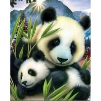 5D DIY Full Drill Diamond-Painting Art Craft Panda Kit Art Cross Stitch Leisure