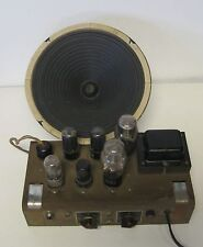 Vintage Jensen Speaker c10rs  Tube Guitar Amplifier Detroit Academy Of Music Kit