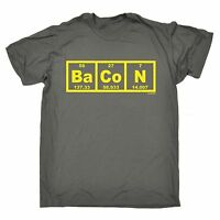 Bacon Periodic Elements Table T-SHIRT Science Chemist Food Gift birthday funny