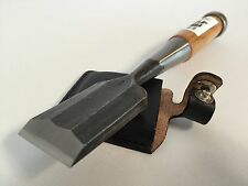 Kakuri Carpentry Chisel Oire Nomi Blade 36mm with Leather Sack Made in Japan New