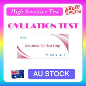 Ovulation Test Strips (LH) Urine Fertility Kit OPK High Sensitive FREE POSTAGE