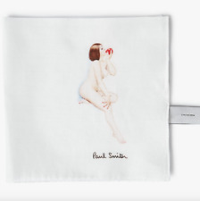 Paul Smith Pocket Square Handkerchief- BNWT Apple Naked Lady RRP: £40