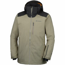 "New Mens Columbia ""Lost Peak"" Omni-Heat Insulated Waterproof Winter Jacket Coat"