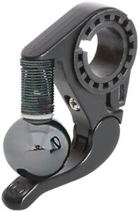 Incredibell Trail Bell Black Allows Hands to Remain on Bars 22.2-31.8mm Clamp