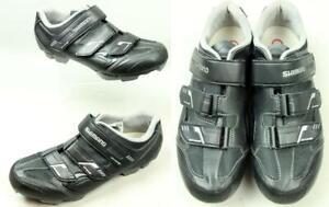 Women's SHIMANO SH-WM52L Black Bike Cycling Cleats Shoes EU43  US10.5