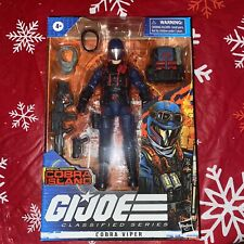 GI Joe Classified Series Cobra Viper Exclusive Cobra Island Missions Brand New