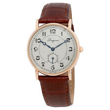 Longines Presence Heritage Automatic Mens Leather Watch L47678732