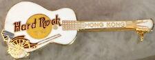 Hard Rock Cafe HONG KONG 2000 Rickshaw on White Gibson GUITAR PIN - HRC #31183