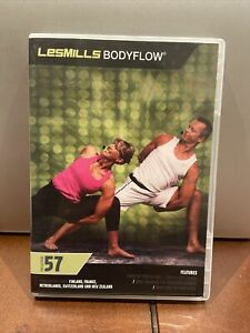 Les Mills Body Flow Release #57 WITH DVD CD BOOKLET
