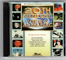 (GQ792) Software Toolworks, 20th Century Video Almanac - 1993 CD