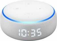 NEW Amazon Echo Dot (3rd Generation) Smart Speaker Alexa with Clock - Sandstone