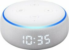 NEW Amazon Echo Dot (3rd Generation) Smart Speaker Alexa with Clock - Sandstone