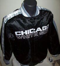 CHICAGO WHITE SOX MLB STARTER Snap Down Jacket Fall 2019 BLACK/SILVER
