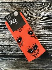 H&M Socks Scary Face Halloween Size 10-11.5 Casual New With Tags