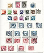 Slovakia stamps 1939 Collection of 32 stamps HIGH VALUE!
