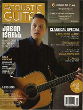 ACOUSTIC GUITAR November 2013 JASON ISBELL Cordoba John Hiatt TAB Play 6 Songs