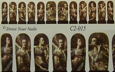 Water Decals - Lady Instruments Sexy Nail Wrap Sticker Transfer  - C2-015