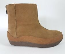 Clarks Originals Da donna x Wallabee Stivali in pelle scamosciata acero UK 3.5 D