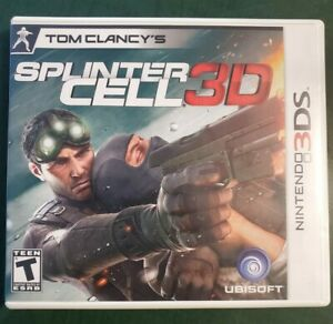 Tom Clancy's Splinter Cell 3D (Nintendo 3DS, 2011) ***Tested