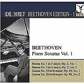 Beethoven: Piano Sonatas, Vol. 1, , Audio CD, New, FREE & FAST Delivery