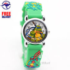 TMNT Ninja Turtle Silicone Boys Watch Children Kids Students Cartoon Watches