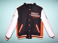 HARLEY  DAVIDSON Boys Reversible Jacket Size M 12/14 (NWOT)
