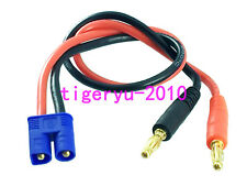 EC3 Male TO 4mm Banana Bullet Plug Charge Charging Cable For Lipo Battery