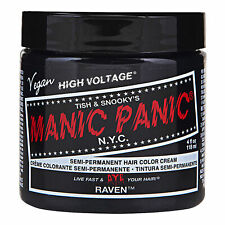 Manic Panic High Voltage Classic 118ml Colorante per Capelli Tintura Cream Raven
